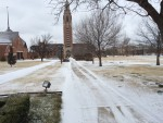 University closes early due to inclement weather