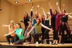 Students compete in annual spring sing competition