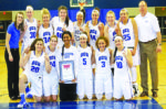Women's basketball team wins 11th conference title