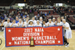 Women's basketball team wins national tournament