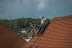Campus apartment roofs repaired from April storm